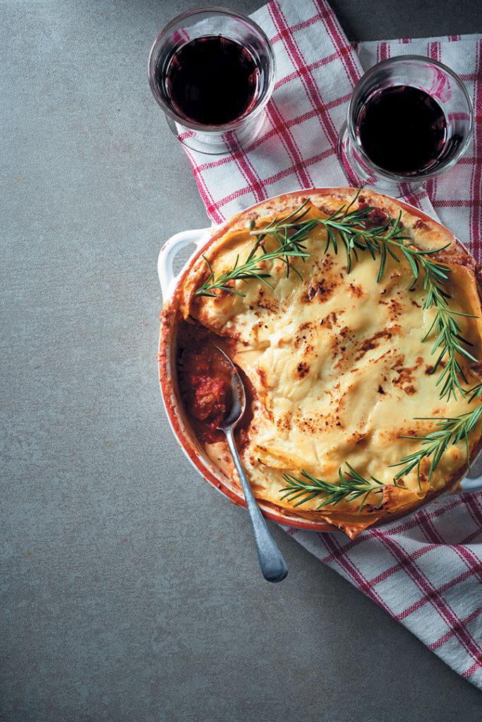 Creamy lasagne recipe