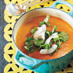Sweet potato, ginger and coconut soup