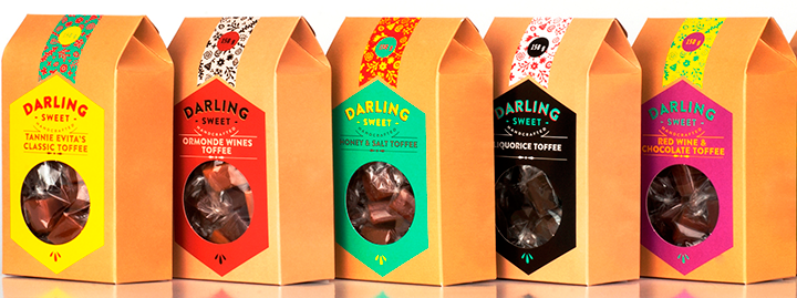 Win one of five Father's Day hampers from Darling Sweet