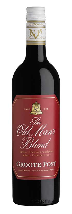 Win with Groote Post's The Old Man's Blend wines, the ideal gift for Father's Day