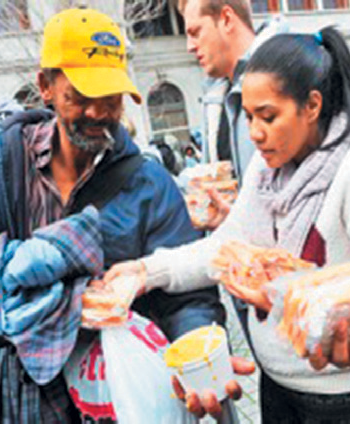 Slice of life timetable for Ladles of Love soup kitchens
