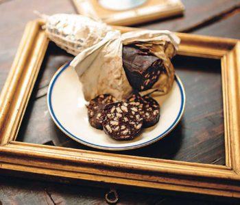 Salame di cioccolato chocolate salami