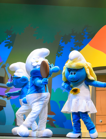 13 – 30 July 2017: The Smurfs Live on Stage – Smurfs Save Spring