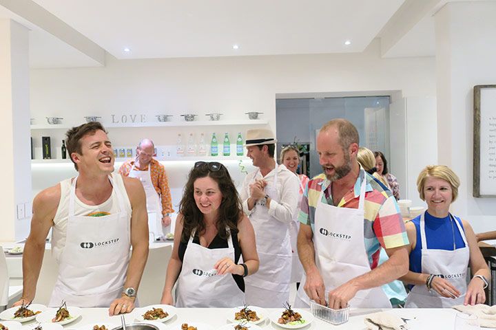Sharpen your culinary skills with Ginger & Lime cooking classes