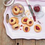 Raspberry jam drops
