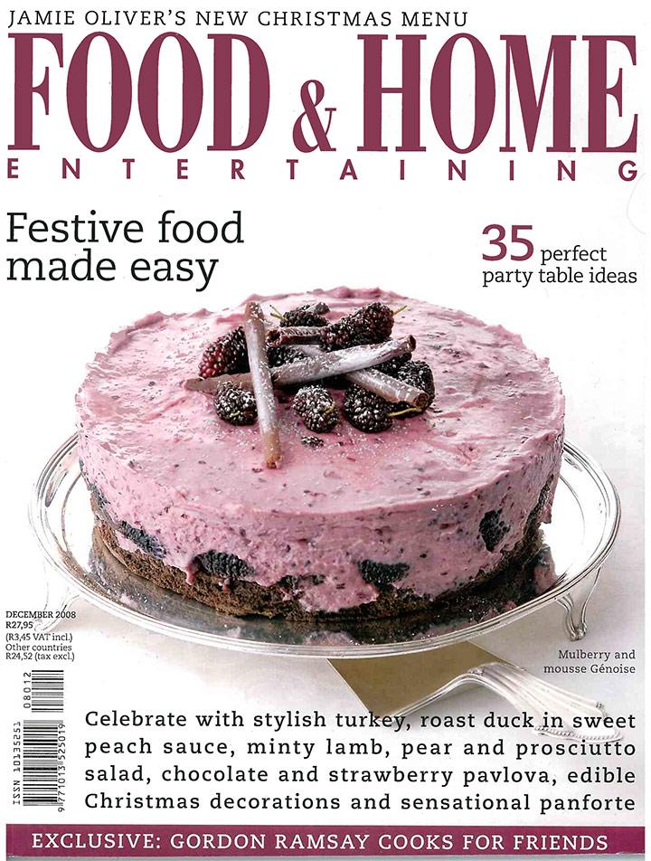 December 2008 cover FHE