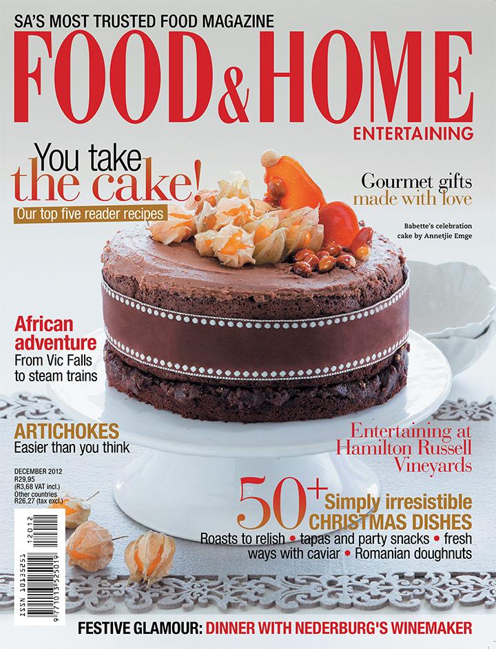 December 2012 FHE cover