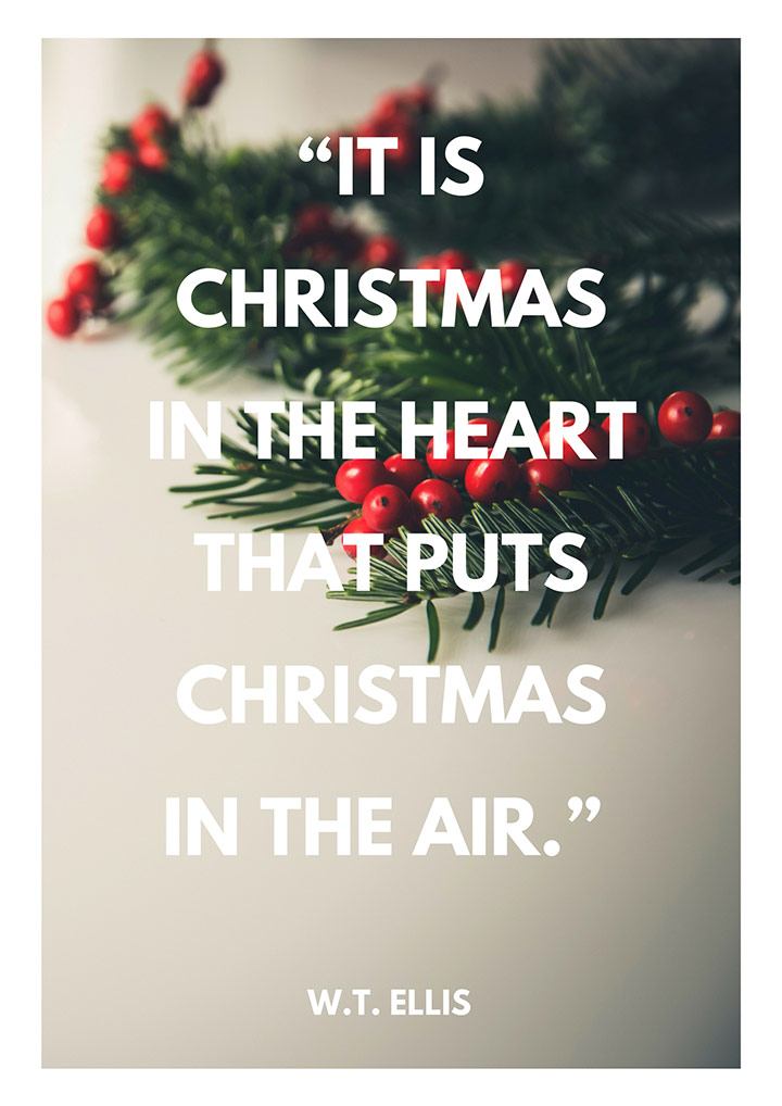 hamilton wright mabie 10 christmas quotes for festive cheer - Christmas Decoration Quotes