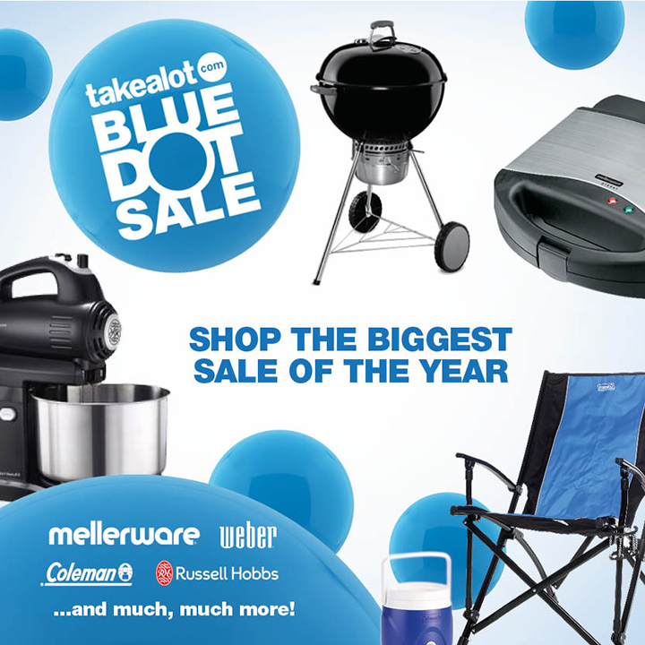 Takealot Black Friday Blue Dot Sale