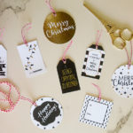 DIY Christmas decorations – FREE Christmas gift tags
