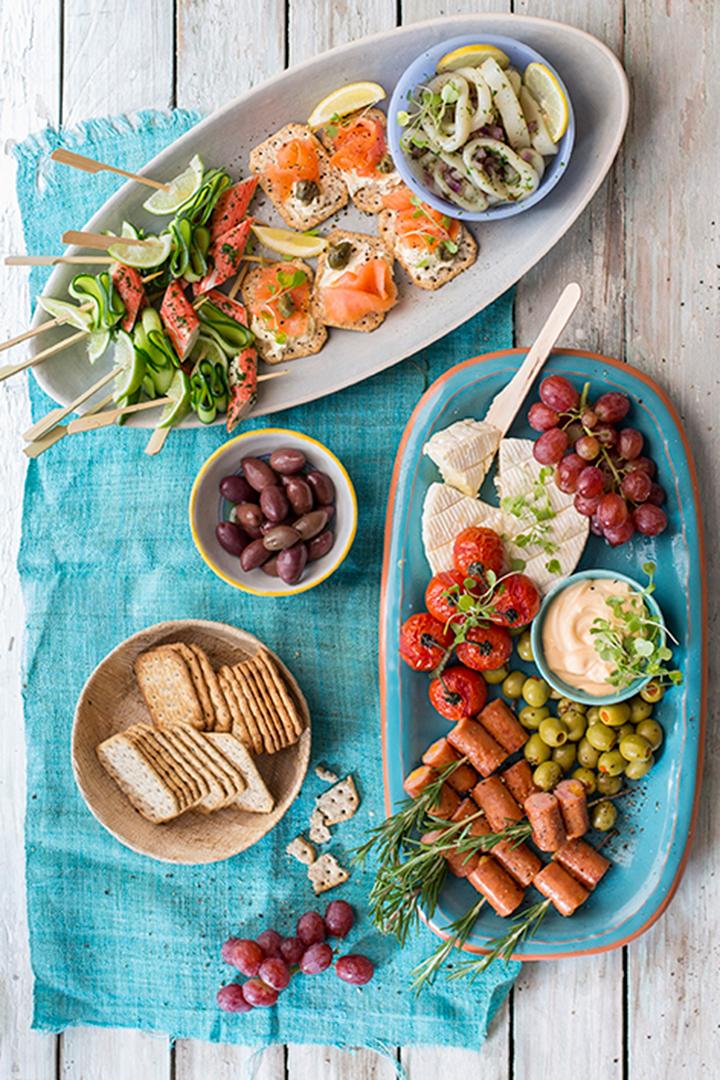 Mediterranean Platter Food Home Entertaining