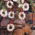 Meringue wreaths
