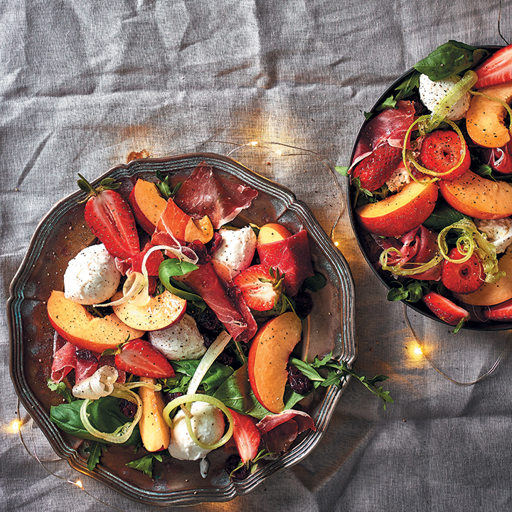 Nectarine, prosciutto and mozzarella salad | Food & Home ...