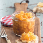 Blistered pineapple, cinnamon and ginger pickle