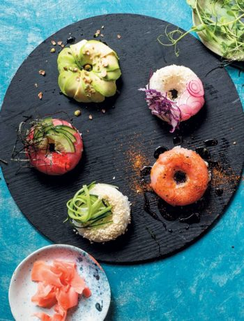 How to make sushi donuts