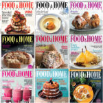 10 Years of Food & Home Entertaining April covers