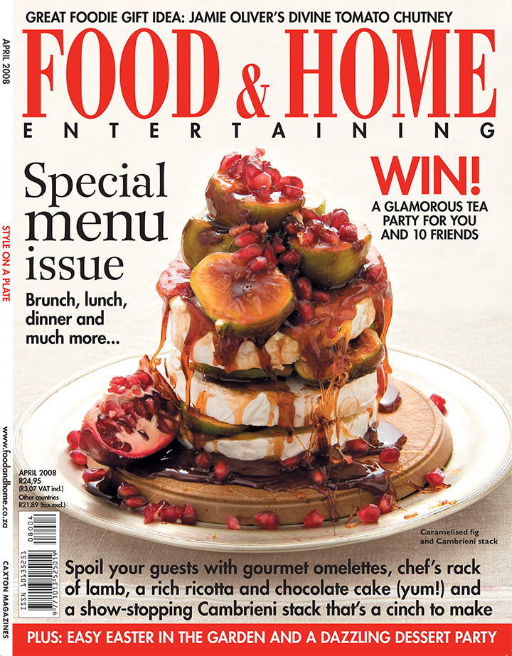 Food and Home Easter cover 2008