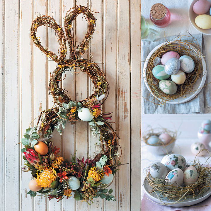 5 easter crafts for adults food home entertaining for Spring craft ideas for adults
