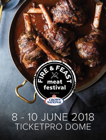 Win tickets to the Fire & Feast Meat Festival, 8 - 10 June at Ticketpro Dome