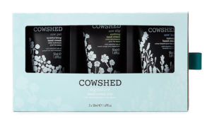 cowshed hand cream trio