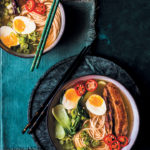 Pork broth ramen with pork belly and miso