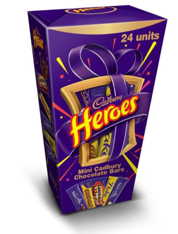 Cadbury Heroes Christmas in July