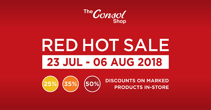 Consol Red Hot Sale