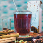 Rooibos spiced chai mulled cider