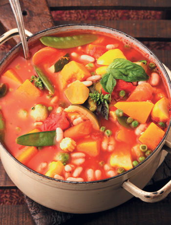The ultimate vegetable soup