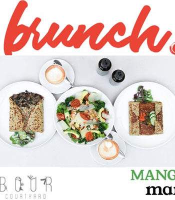 Arbour Café and MANGERmanje take over Saturday's with a delicious Brunch concept
