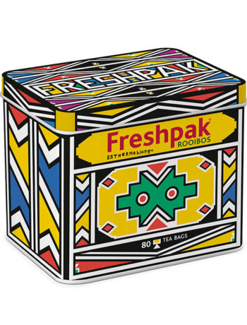 Freshpak 80s Limited Edition Esther Mahlangu Tin