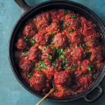 Home-made meatballs in Napoletana sauce