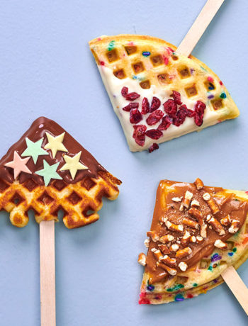 festive waffles