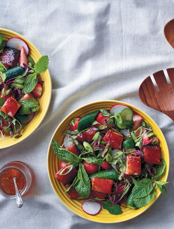 Pork-belly salad