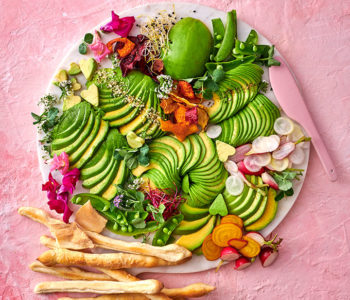 Avocado nosh board