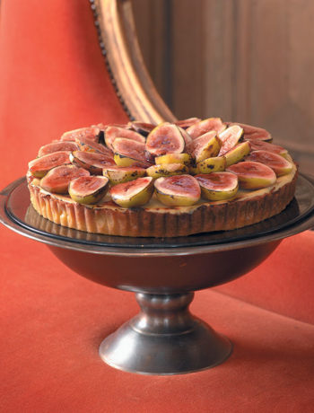 Caramelised fig cheesecake