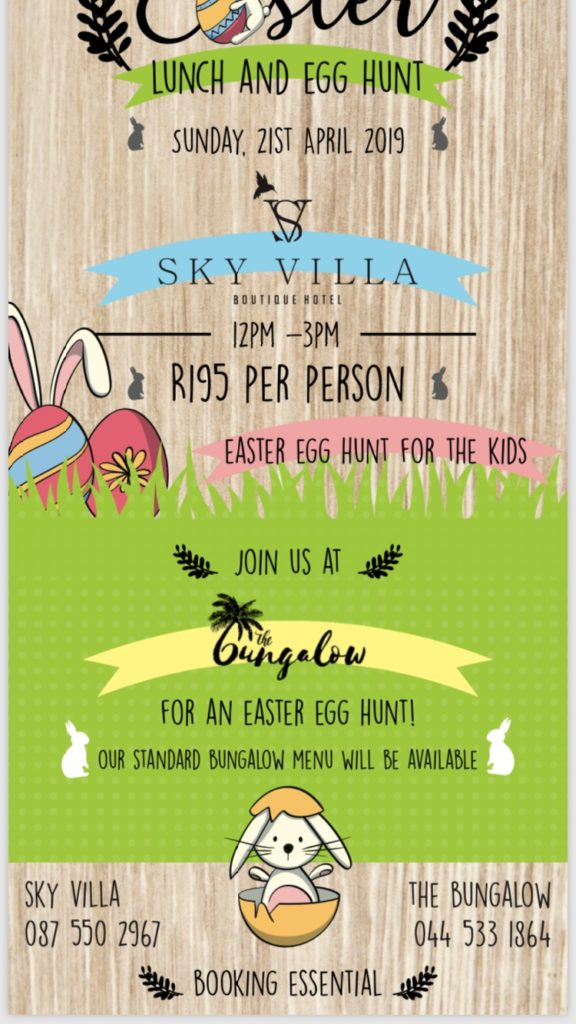 Sky Villa Easter special