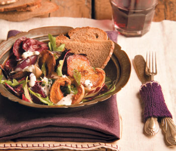Spiced butternut and beetroot salad