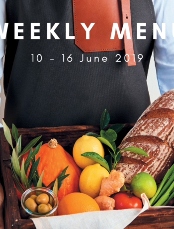 weekly menu june
