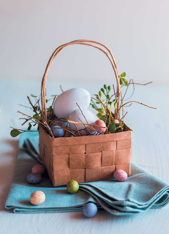 How To Make Paper Bag Easter Baskets Food Amp Home