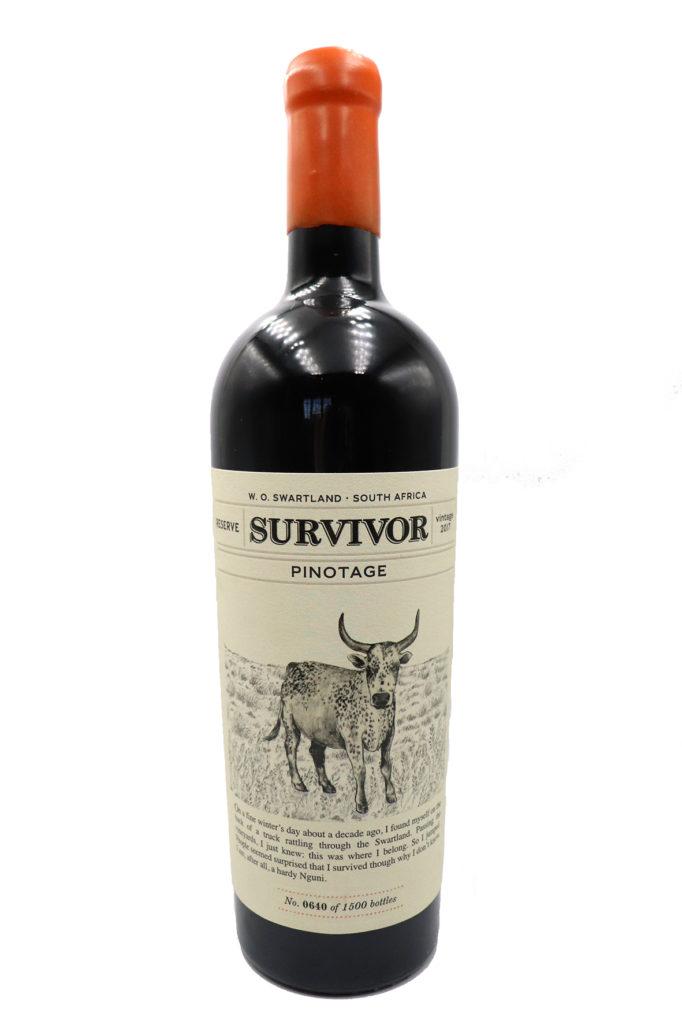 Survivor Pinotage Reserve 2017
