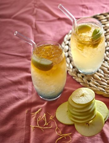 Ginger-beer cocktail