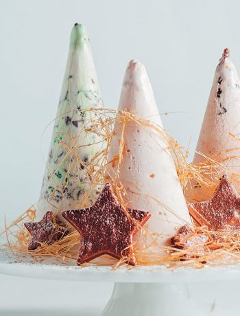 Ice-cream Christmas trees