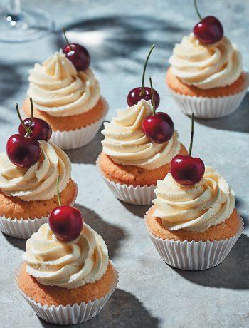Cherry-on-top cupcakes