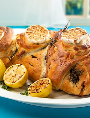 Jenny Morris' slow-baked lamb in a rosemary dough crust